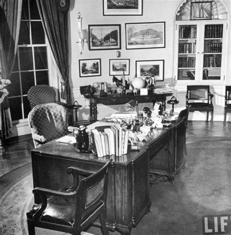 fdr s oval office in 1945 franklin delano roosevelt
