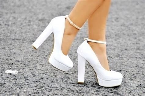 high heels with thick heels shoes white heels straps high heels thick heel