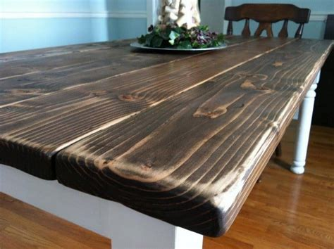 Building A Dining Room Table How To Build A Vintage Style Dining Room Table Yourself Removeandreplace