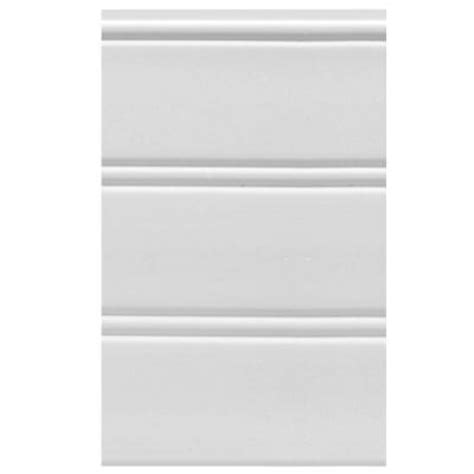 Plastic Wainscoting Panels House Of Fara W36wp 9 Sq Ft White Vinyl Reversible