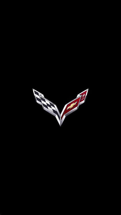 Iphone 5 Wallpaper Car Logo by Corvette Logo Iphone 5 Wallpaper 640x1136