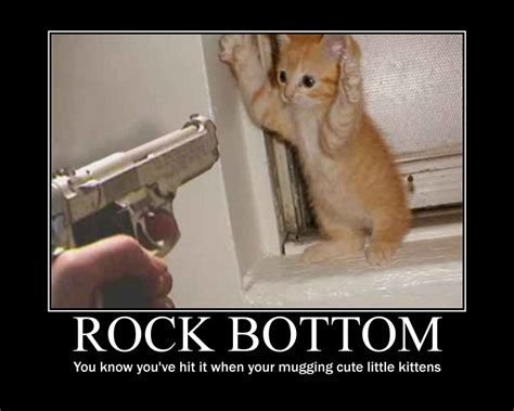 Rock Bottom Meme - rock bottom poster by michael j caboose on deviantart