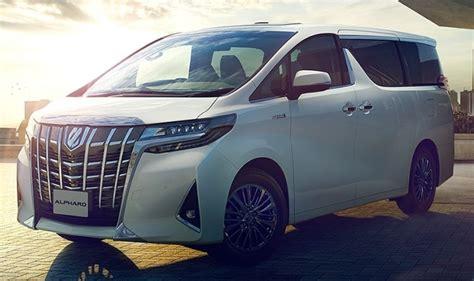 Toyota Alphard 2020 by Toyota Alphard 2020 Price Interior Specs 2020 Toyota