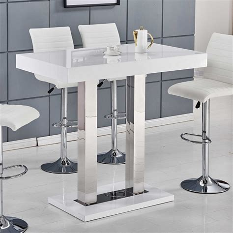 White Bar Table Rectangular Bar Table Shop For Cheap Furniture And Save