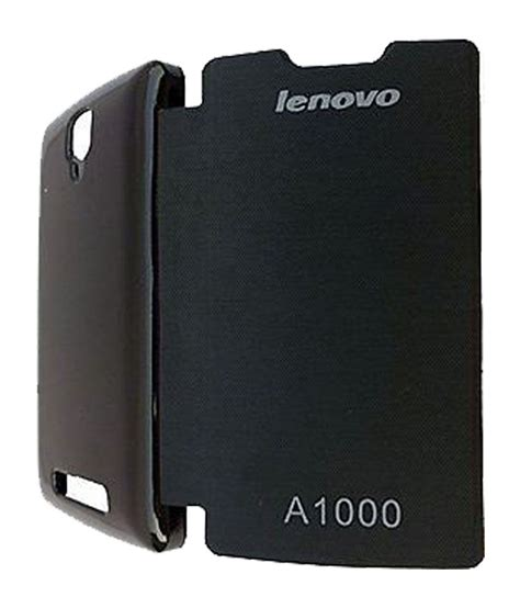 Flip Cover Lenovo A1000 Lenovo A1000 Flip Cover By Goodcovers Black Buy Lenovo