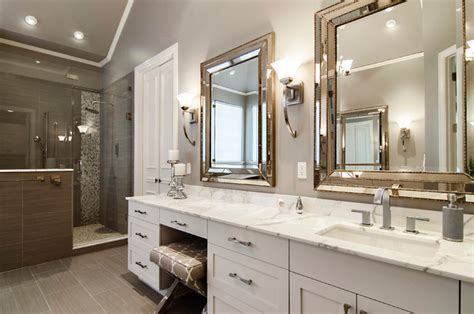 Houzz Bathroom Designs by Beckington Master Bathroom Transitional Bathroom