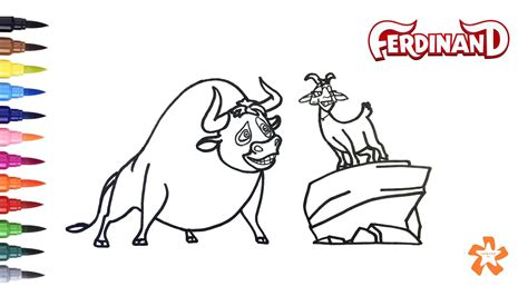 ferdinand coloring book great coloring book for books ferdinand how to color ferdinand and coloring
