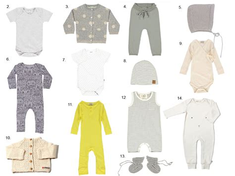 essential baby clothes for the months kin
