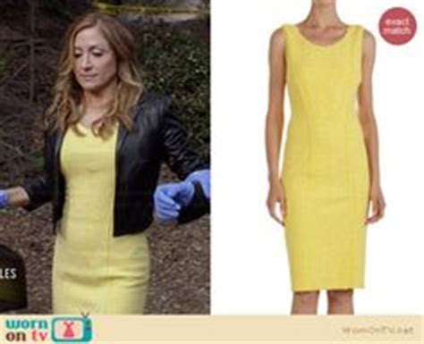 Maura Dress By D Lovera isles style on maura isles angie harmon and cropped blazer