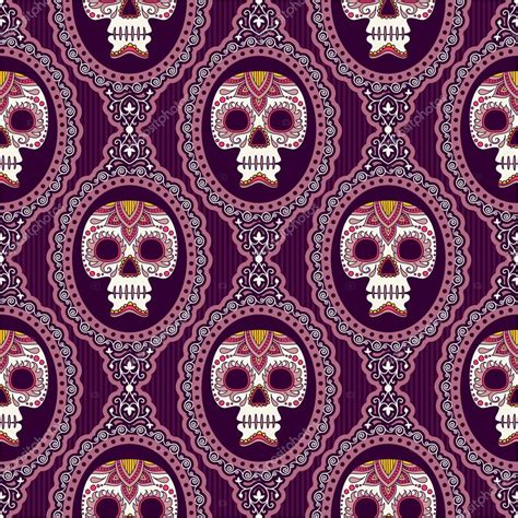 day of the dead background mexican day of dead background stock vector 169 xenia ok