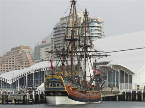 Australian National Mba Reviews by View Of Hmb Endeavour At Sydney Museum Picture Of