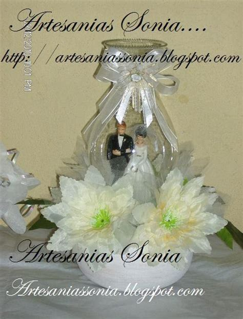 artesanias para boda artesanias sonia centros de mesa para boda
