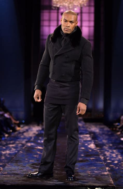 Tyson Beckford At 2008 Fashion Week by Runway Fall 08 Mbfw Zimbio