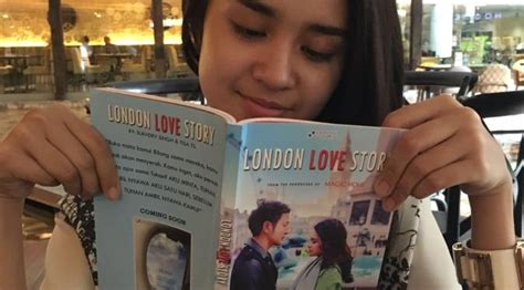 produser film london love story dimas anggara dan michelle ziudith pamer novel london love