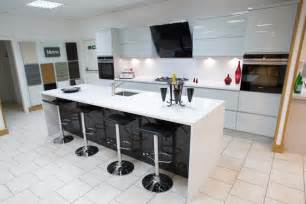 Kitchen Islands For Sale Uk Multiwood Welford High Gloss Light Grey Anthracite Ex