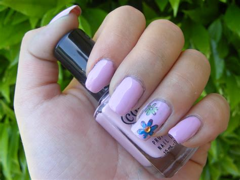 Flower Nail by Flower Nail Designs Acrylic Nail Designs