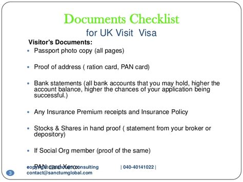 Bank Statement Cover Letter Passport Uk Visit Visa Sanctum Consulting