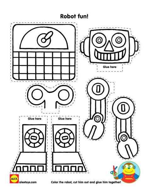 25 Best Ideas About Robot Crafts On Pinterest Robots For Kids Robot Theme And Toilet Paper Tubes Robot Craft Template
