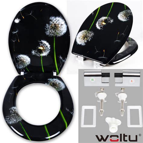 bd toilettensitz wc sitz toilettendeckel duroplast absenkautomatik