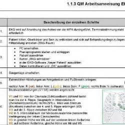 Kostenlose Vorlage Arbeitsanweisung Kostenlose Qm Vorlagen In Der Arztpraxis F 252 R Mfa Praxismanagerinnen Und 196 Rzte