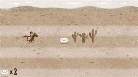 play doodle pony express s pony express doodle is a playable
