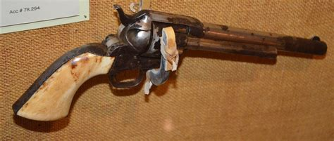 Cavaly Dusty earp s revolver ralph foster museum at the