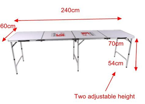 8ft mdf beer pong folding table buy mdf beer pong table