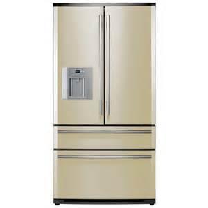 French Door Fridge With Ice And Water Dispenser - rangemaster rdxd910cr c french style fridge freezer cream