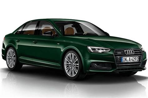 audi a4 in exclusive goodwood green paint color b9 audi a4 forum