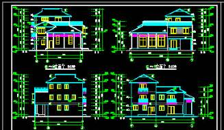 online autocad design autocad drawing of residential house free download