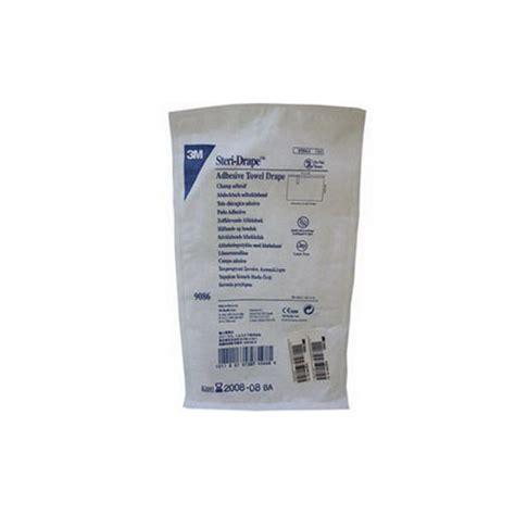 adhesive drape 3m steri drape small towel with adhesive strip 17 5 8 quot x