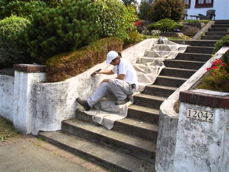 retaining wall prep paint broadview neighborhood seattle healthy painting l l c