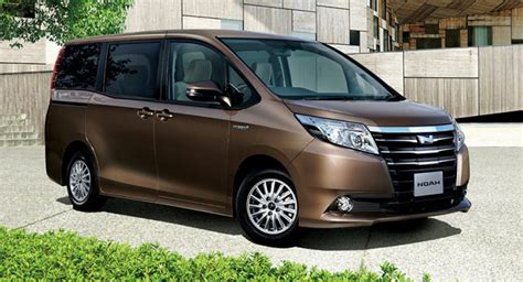 Which Toyotas Are Made In Japan Toyota Launches All New Voxy Noah Minivans In Japan W