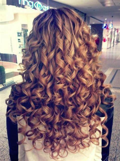 blonde ringlet curls hairstyles