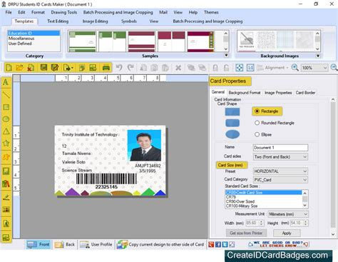 create printable id cards createidcardbadges com introduces student id cards maker