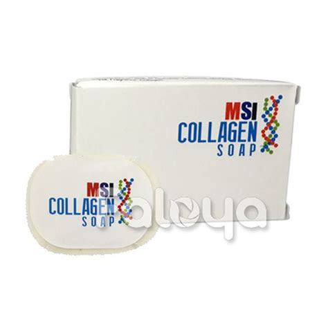Collagen Msi msi collagen soap sabun kecantikan kaya kandungan collagen