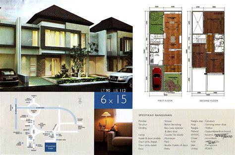 desain depan rumah lebar 6 meter tampak depan rumah 6 meter gambar rumah idaman com