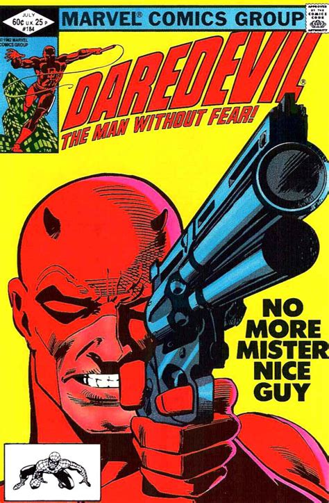 daredevil by frank miller daredevil 184 frank miller art cover pencil ink
