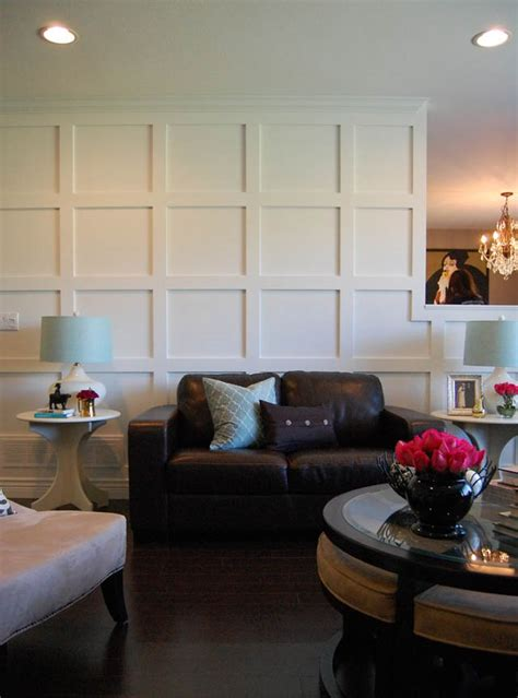 paneled walls diy wood walls decorating your small space