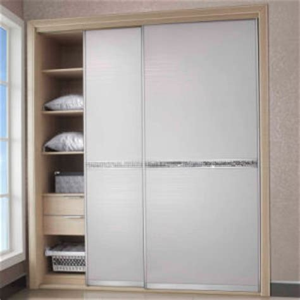 White Modern Wardrobe by China Modern White Laminate Wardrobe With Waist