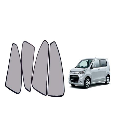 magnetic curtains for car autokraftz car magnetic sunshade curtain for maruti