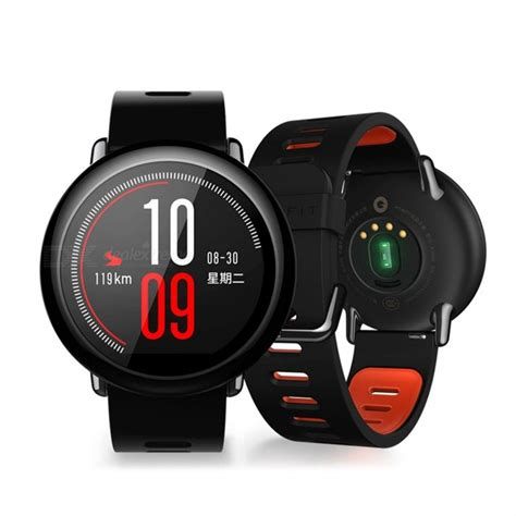 Xiaomi Huami Amazfit Pace International Version Smart xiaomi huami amazfit pace sports smart black