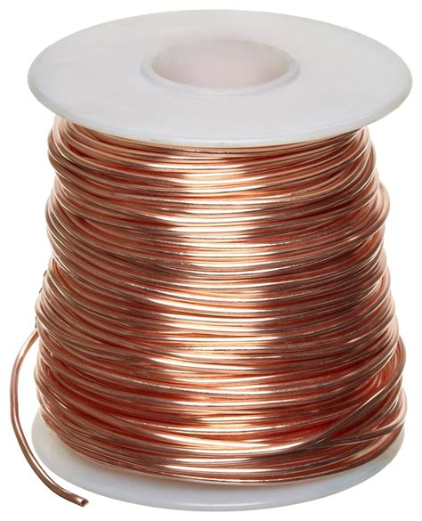 4 copper wire bare copper wire bright 14 awg 0 064 quot diameter 80