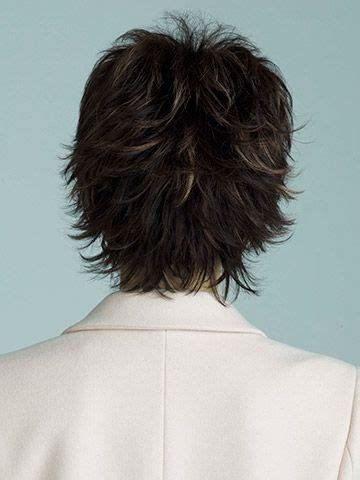 short hair with wispy back back view wispy layered cut hair pinterest paris