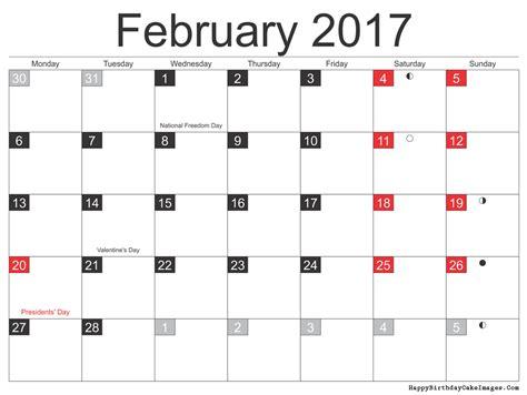 printable calendar february 2017 february 2017 calendar printable template monthly