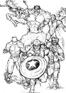 marvel coloring book 13 marvel coloring page print color craft