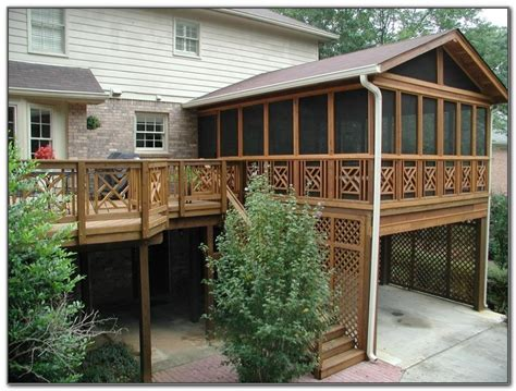 screened in deck plans screened in deck plans decks home decorating ideas