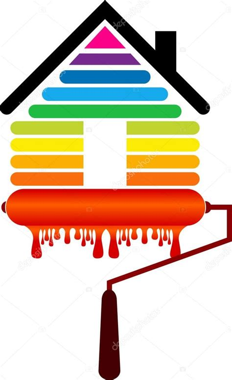 house painter logo house painting logo stock vector 169 magagraphics 114914012