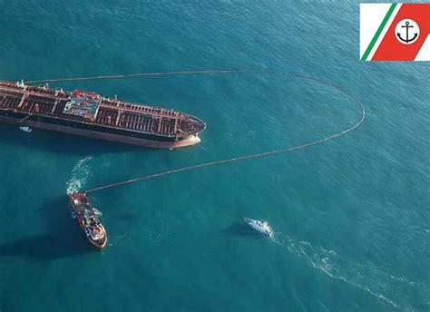 capitaneria porto bari foto ambiente macchia sospetta in adriatico le