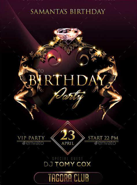 design birthday flyer flyer designs free premium templates